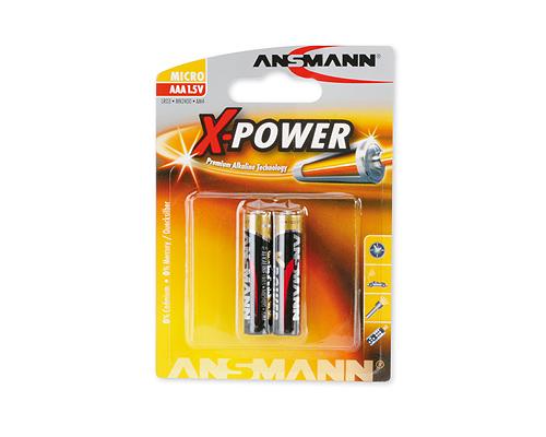 ANSMANN Pin ALKALINE X-Power AAA LR03 - 5015603
