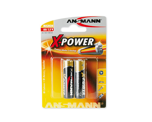 ANSMANN Pin ALKALINE X-Power AA LR6 - 5015613