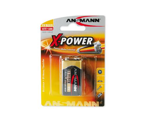 ANSMANN Pin ALKALINE X-Power E-Block 9V - 5015643