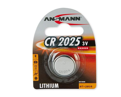 ANSMANN Pin Lithium CR2025 - 5020142