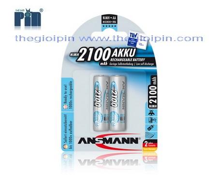 ANSMANN Pin sạc cao cấp NiMH HR6 AA-2100mAh - BL2 - 5030992