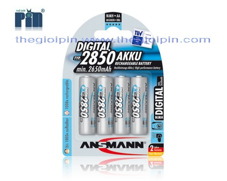 AA-4x2850mAh