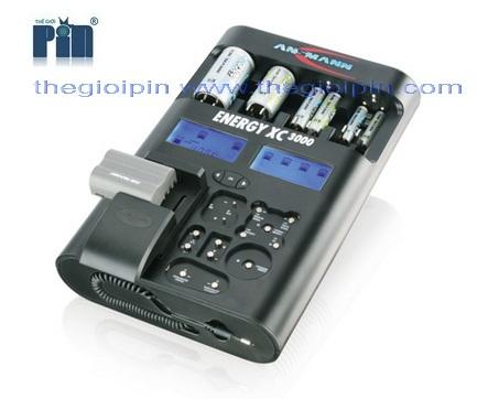 ANSMANN Bộ sạc Pin ENERGY XC 3000 - 5207452