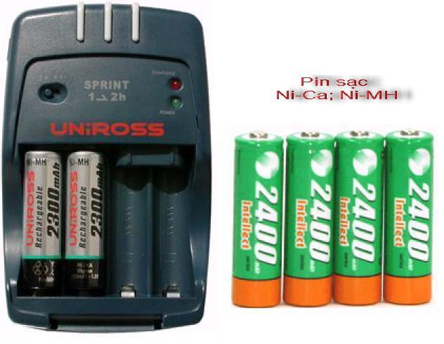 Các loại pin sạc phù hợp với máy ảnh 2