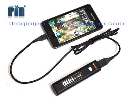 Pin Laptop Đa năng - Sạc đa năng + đèn pin siêu sáng